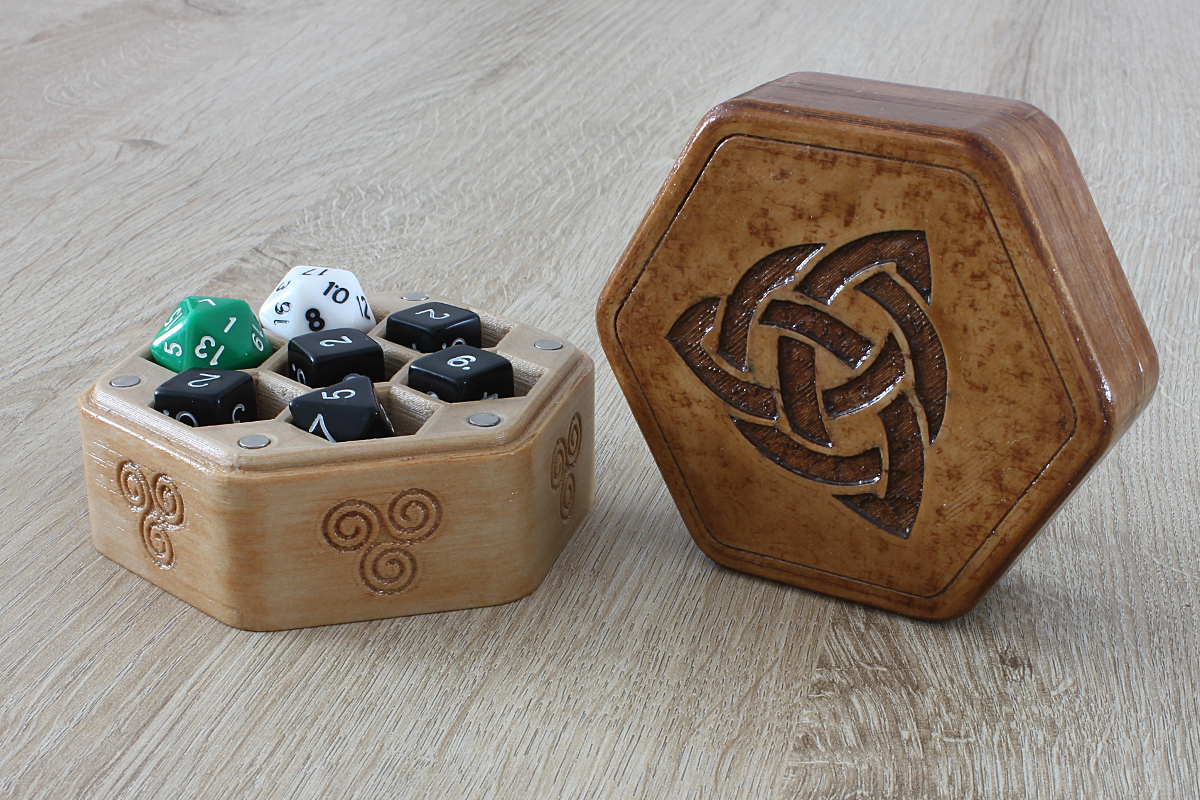 Box for 14 Dice